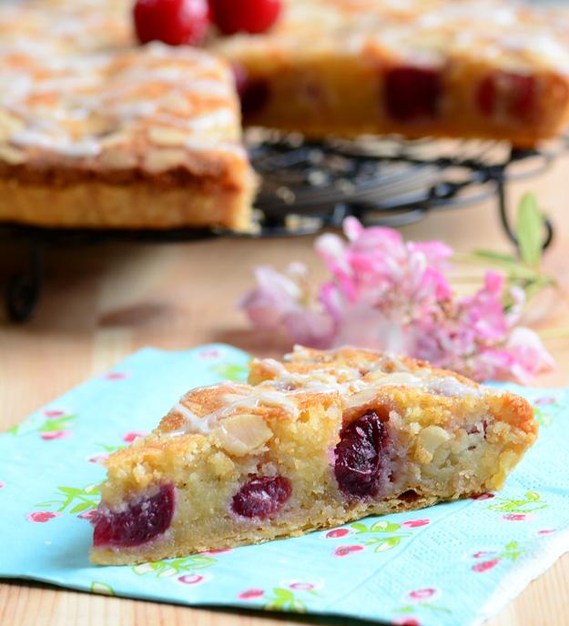 Cherry Bakewell Tart 3
